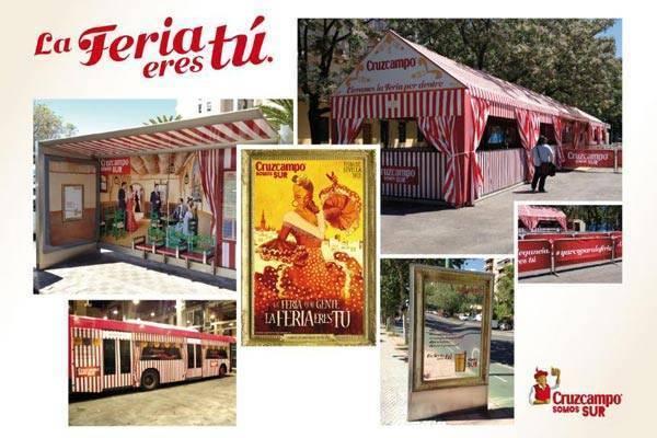 Resultado de imagen de Feria de sevilla publicidad